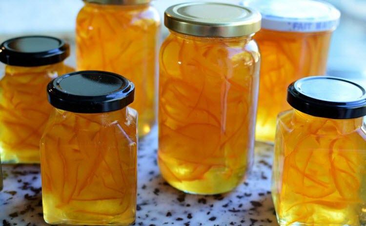 Апельсиновый конфитюр с цедрой