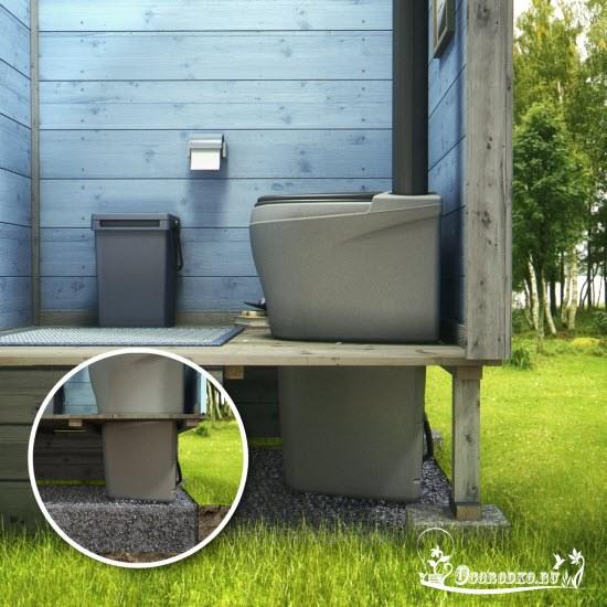 торфяной биотуалет для дачи