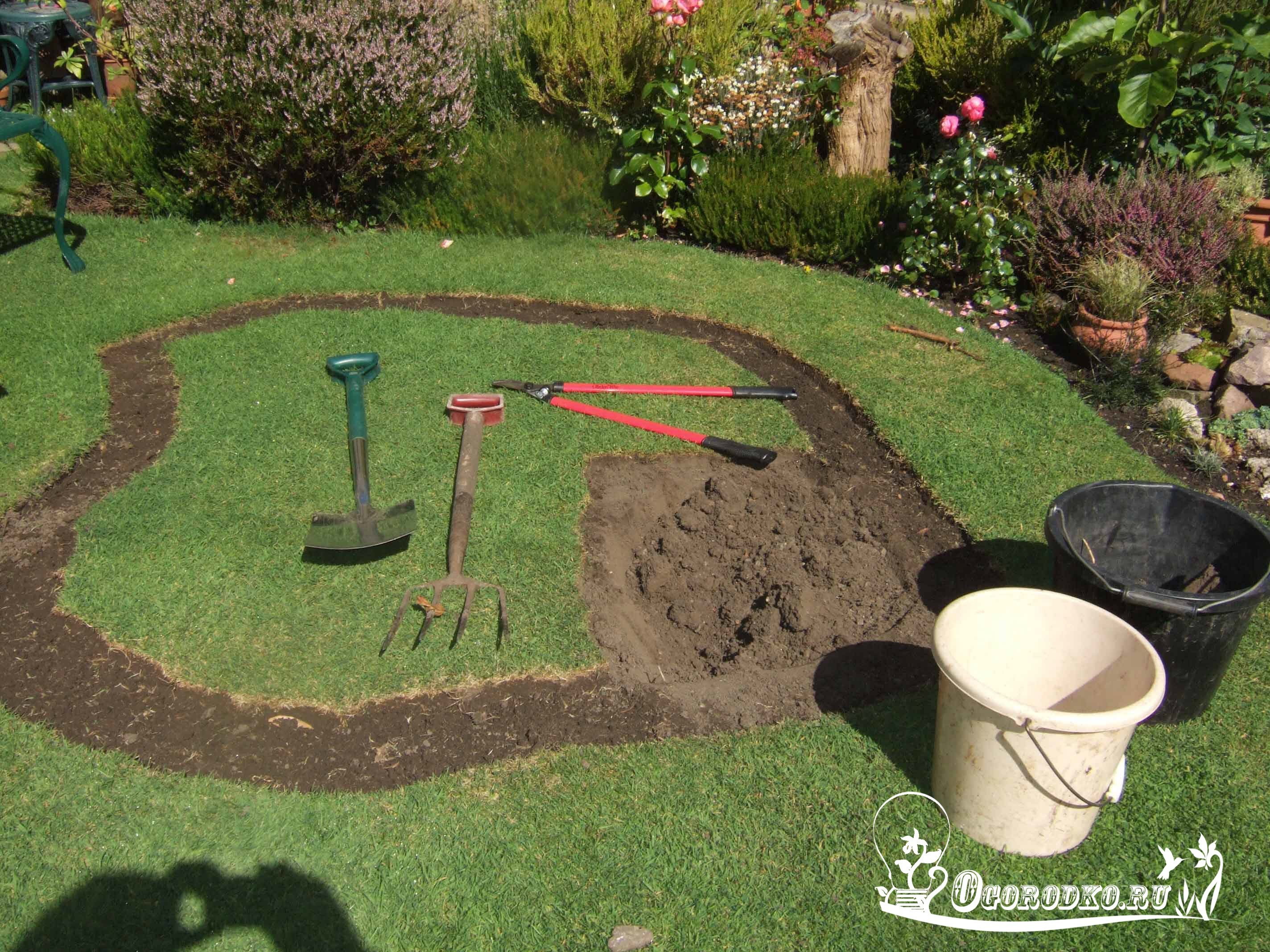 Как сделать пруд своими руками для сада 337