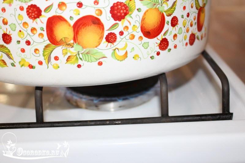 сколько варить малиновое варенье