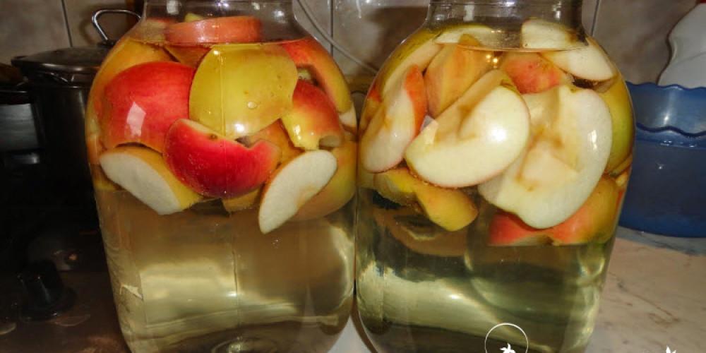 Как приготовить компот из яблок на зиму – простой рецепт вкусного напитка