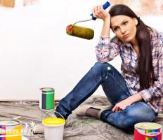 Покраска водоэмульсионной краской – как не испортить стены и добиться ровного покрытия?