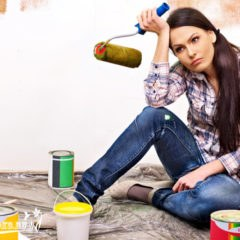 покраска водоэмульсионной краской, советы и рекомендации