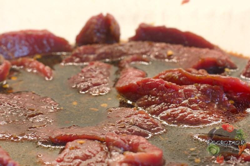 маринуем мясо