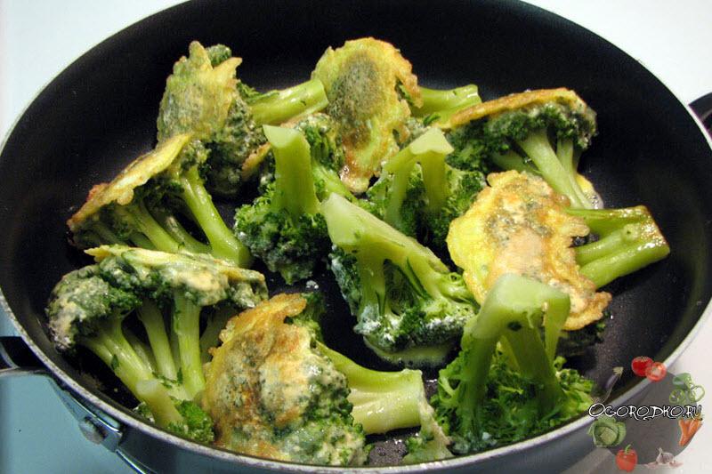 брокколи в кляре, рецепт