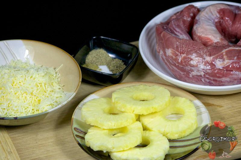 svinyye karmany farshirovannyye ananasom (2)