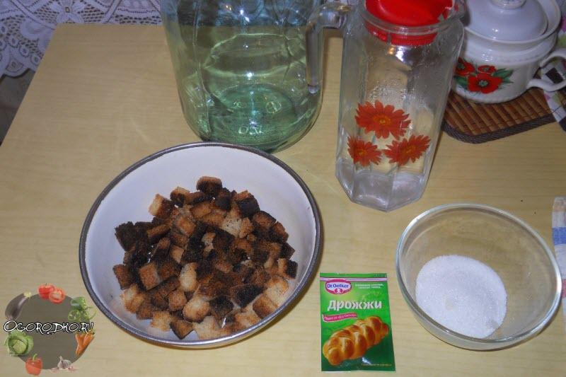 ингредиенты для закваски