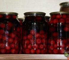 Компот из вишни на зиму – только лучшие рецепты!