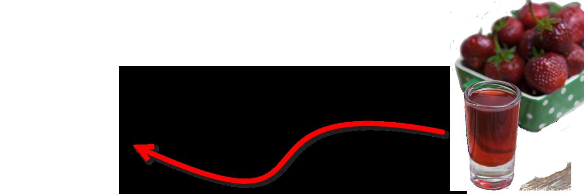 Домашний ликер из клубники
