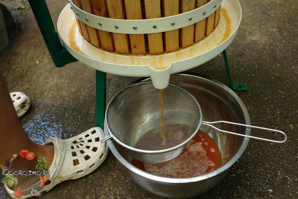 Как сделать сок из яблок без соковыжималки в домашних