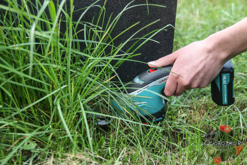 Аккумуляторные садовые ножницы