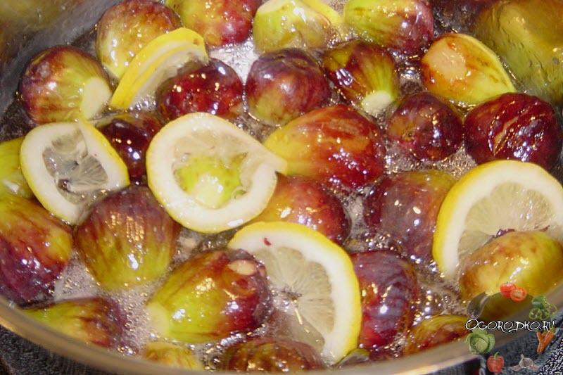 инжирное варенье с лимоном