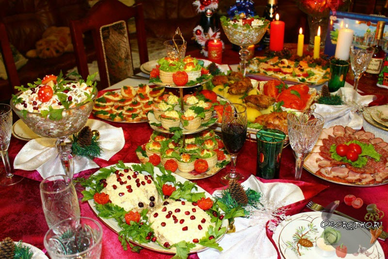 Что приготовить на Новый год