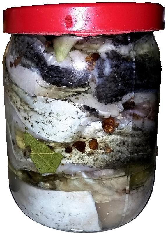 маринованный толстолоб