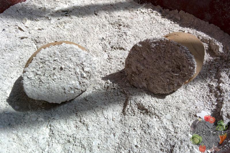 обработка картофеля золой