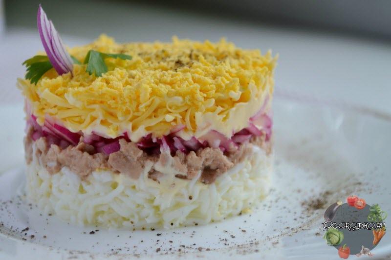 Салат с печенью трески рецепт очень вкусный мимоза 89
