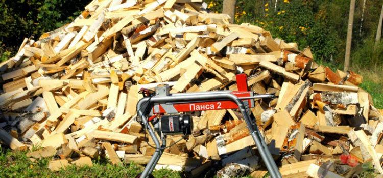 Дровокол гидравлический – незаменимый инструмент для заготовки дров