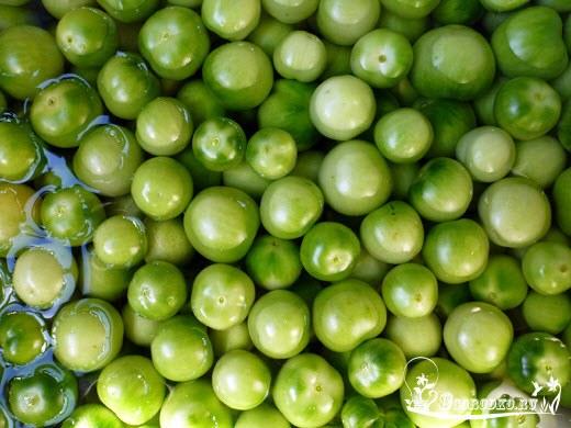 Зеленые помидоры на зиму - как приготовить