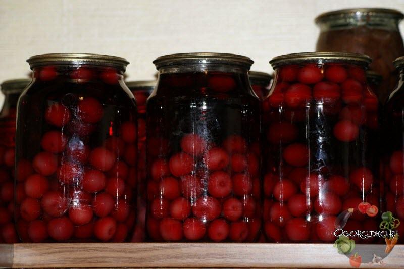 Компот из вишни на зиму - самые лучшие рецепты с пошаговой инструкцией