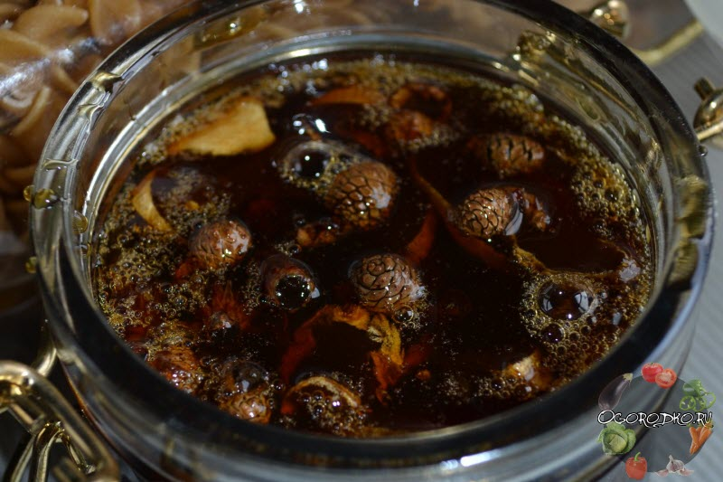 варенье из шишек с имбирем - рецепт приготовления