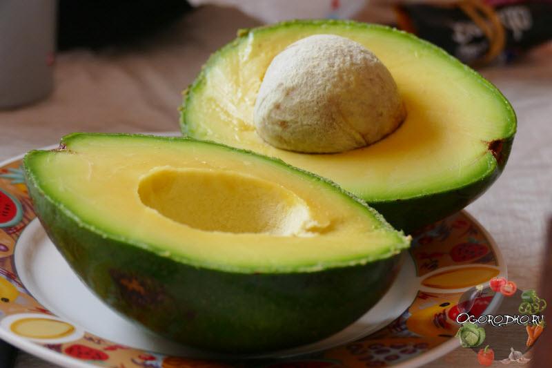 Как есть авокадо
