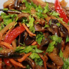 Баклажаны по-корейски, лучшие рецепты