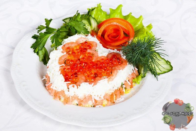 """салат на новый год """"Парадайз"""""""