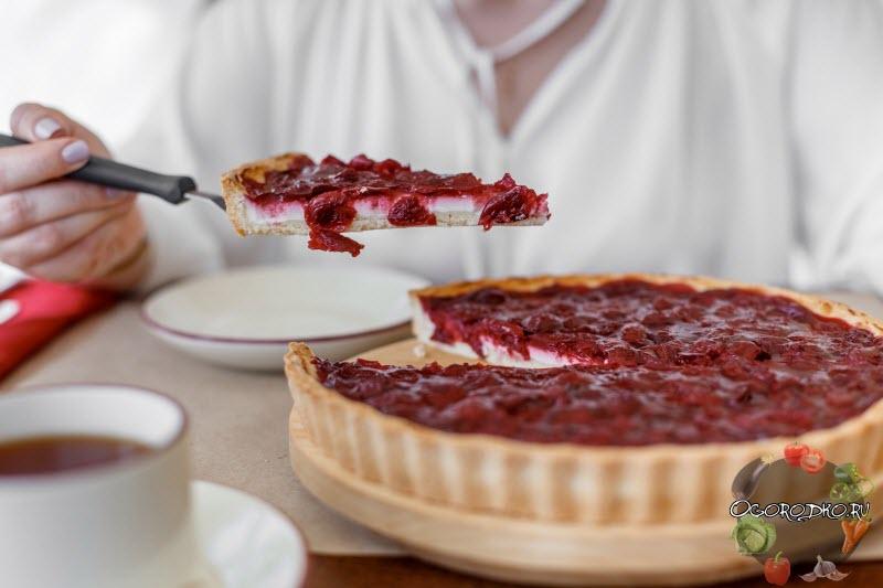 Пирог с вишней, фото рецепты