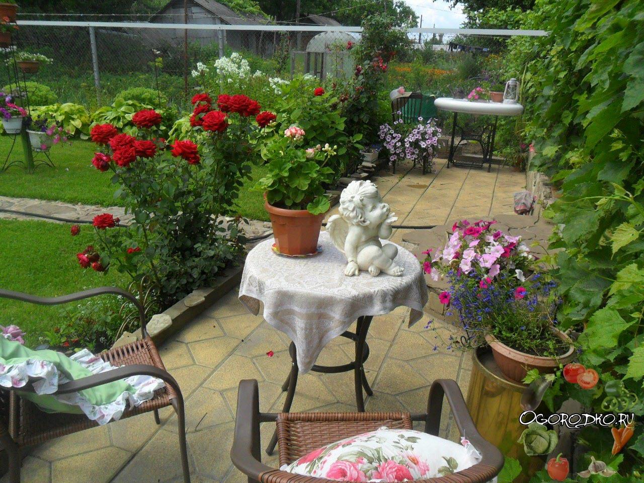 райский уголок в саду