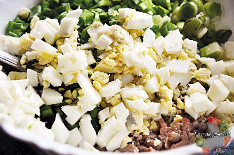 рецепт салата из печени трески