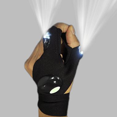 Перчатка фонарик Glove Lite