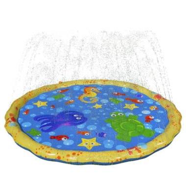 Детский бассейн (коврик) с фонтанами