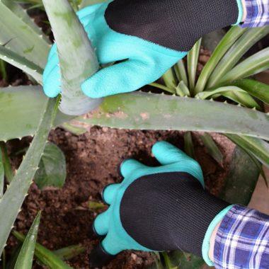 перчатки когти для сада