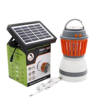 Лампа переносная светодиодная с солнечной батареей