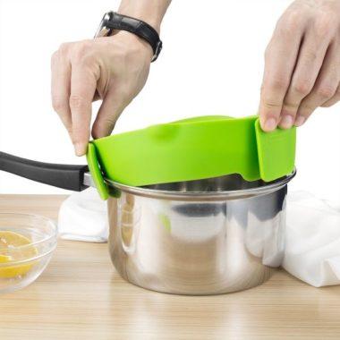 Кухонный зажим силиконовый