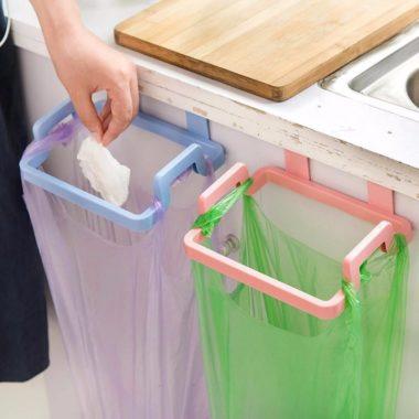 держатель для мусорного пакета на дверцу