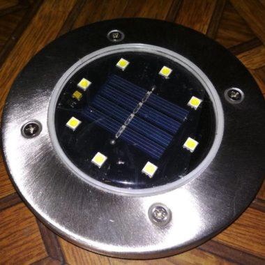 светильники садовые светодиодные на солнечной батареи