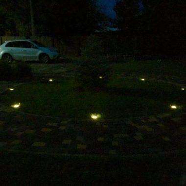 грунтовый светильник для сада