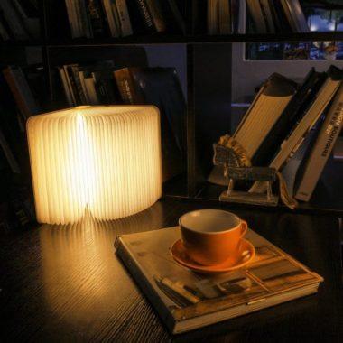 светильник в виде книги