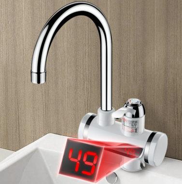 проточный кран водонагреватель на дачу
