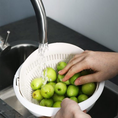 двойная миска для мытья