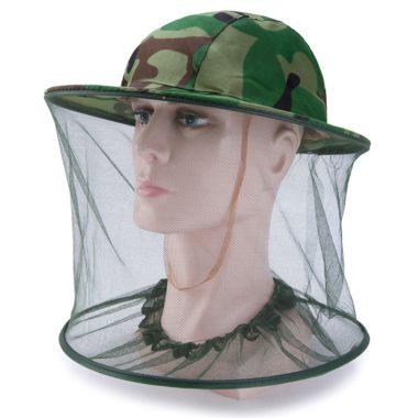 шляпа с москитной сеткой