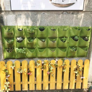 Вертикальные грядки для озеленения